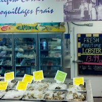 Photo taken at Lapointe Full Service Fish Market Sushi-grade Fish & Seafood by Sandy M. on 9/10/2013