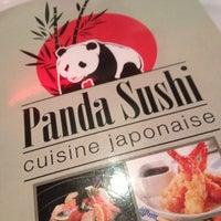 Photo taken at Panda Sushi by Antoine G. on 5/13/2013