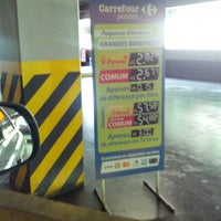 Photo taken at Posto Carrefour by Anderson O. on 4/3/2013