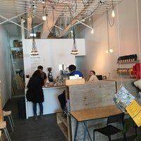 Photo taken at MAKE Coffee + Stuff by Eric L. on 3/4/2017