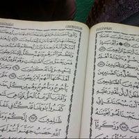 Photo taken at Masjid Al-Mujahideen by Elfera I. on 7/18/2013