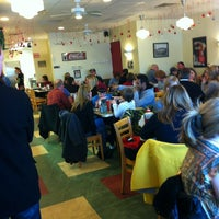 Photo taken at Real Food Cafe by Kevin O. on 12/30/2012