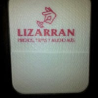 Photo taken at Lizarran by Hector C. on 1/11/2013