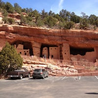 Photo taken at Manitou Cliff Dwellings by Adrienne M. on 3/26/2013