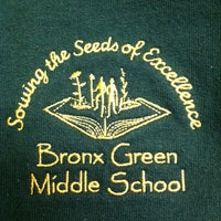 Photo taken at Bronx Green Middle School by Melissa K. on 6/13/2013