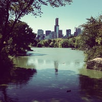 Photo taken at Central Park – Turtle Pond by Alina L. on 9/24/2012