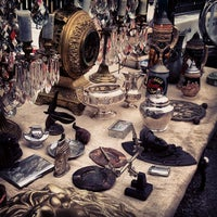 Photo taken at Hell's Kitchen Flea Market by Alina L. on 9/23/2012