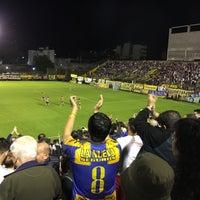 Photo taken at Estadio Don León Kolbowski (Club Atlético Atlanta) by Juan A. R. on 9/28/2016