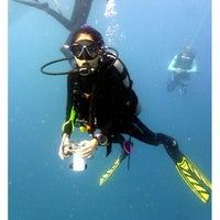 Photo taken at Bubbles Dive Resort by Nicole P. on 9/8/2014