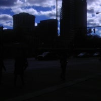 Photo taken at COTA Bus Stop @ Broad & High by Vincent S. on 11/2/2012