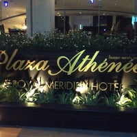 Photo taken at The Athenee Hotel, a Luxury Collection Hotel, Bangkok by Gilles E. on 3/23/2013