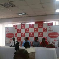 Photo taken at Airtel HQ (temp) by Patricia K. on 12/10/2015