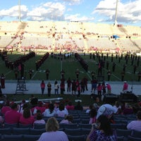Photo taken at Aggie Memorial Stadium by Mike D. on 9/29/2012