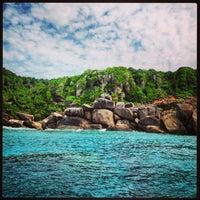 Photo taken at Similan Islands by Maria💘 P. on 1/3/2013