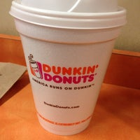 Photo taken at Dunkin' Donuts by Jason A. on 6/1/2014