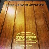 Photo taken at Stackers Burger Café by Kristofunk M. on 7/4/2013