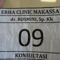 Photo taken at New Erha Clinic Skin Care by Shinta P. on 2/18/2014