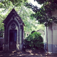 Photo taken at Montmartre Cemetery by Fredfades J. on 7/10/2013