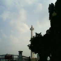 Photo taken at Monas Sektor Barat by Lingga H. on 8/14/2014