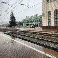 Photo taken at Остановка «Московский вокзал» by Andrey Y. on 4/16/2015