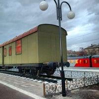 Photo taken at Остановка «Московский вокзал» by Andrey Y. on 4/23/2015