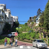 Photo taken at Russian Hill by Elena S. on 3/30/2017