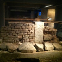 Photo taken at Museu d'Història de Barcelona (MUHBA) by luciano b. on 1/5/2013