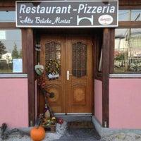 "Photo taken at Restaurant ""Alte Brücke Mostar"" by Yusri Echman on 3/7/2014"