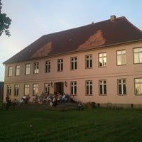 Photo taken at Gutshaus Rensow by Tino H. on 7/17/2013