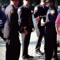 Photo taken at Firemen's Memorial by Tim Y. on 9/11/2013