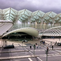 Photo taken at Gare do Oriente Train Station by José C. on 4/4/2013
