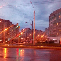 Photo taken at Остановка «Скрипникова» by Кристина Т. on 7/11/2016