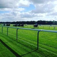 Photo taken at Haydock Park Racecourse by Darren W. on 9/25/2015