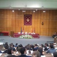 Photo taken at Facultad de Derecho (UCM) by Patrik H. on 5/24/2013