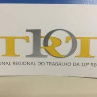 Photo taken at Tribunal Regional do Trabalho da 10ª Região (TRT 10) by DelmaEliane C. on 3/2/2016