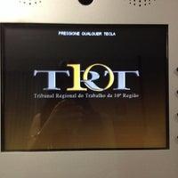 Photo taken at Tribunal Regional do Trabalho da 10ª Região (TRT 10) by DelmaEliane C. on 2/3/2014