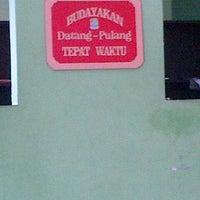 Photo taken at Kantor Kelurahan Jatirahayu by Maureen R. on 11/20/2013