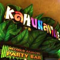 Photo taken at Kahunaville by Jenna B. on 11/6/2012