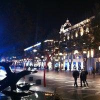 Снимок сделан в Площадь Фонтанов пользователем Akifff 12/14/2012