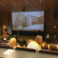 Photo taken at FH Oberösterreich - Fakultät für Informatik, Kommunikation und Medien by Perry G. on 9/23/2016