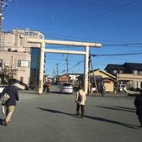 Photo taken at Futaminoura Station by Shin T. on 1/15/2017