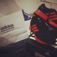 Photo taken at Adidas Outlet Store by Dú S. on 6/19/2013
