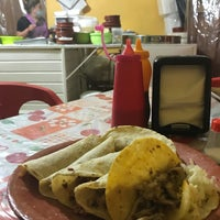Photo taken at Taquería Guadalupana by Germán M. on 4/28/2017