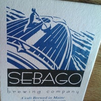 Photo taken at Sebago Brewing Company by Don L. on 10/26/2012