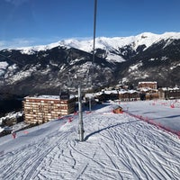 Photo taken at Courchevel Moriond 1650 by Hakan E. on 1/30/2018