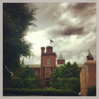Photo taken at Smithsonian Institution Building (The Castle) by Isa L. on 6/13/2013