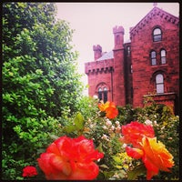 Photo taken at Smithsonian Institution Building (The Castle) by Isa L. on 6/6/2013