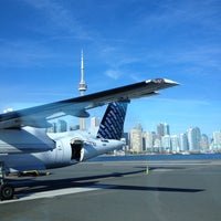 Photo taken at Billy Bishop Toronto City Airport (YTZ) by Victor d. on 10/9/2012