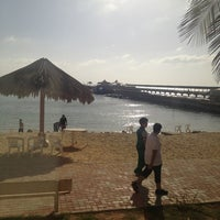 Photo taken at Blue Beach Resorts || شاليهات الشاطئ الأزرق by Tahani A. on 3/23/2013