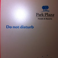 Photo taken at Park Plaza Hotels Europe by Delphine G. on 2/13/2014